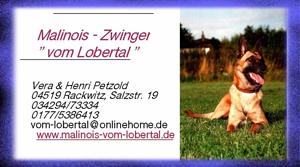 Homepage vom Lobertal
